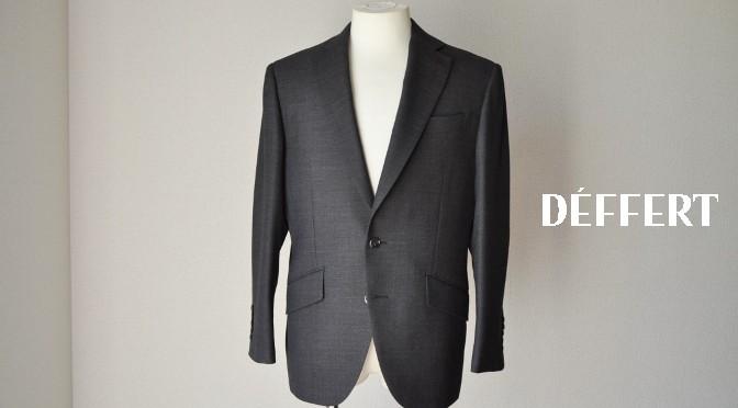 お客様のスーツの紹介-ブラウンバーズアイ スーツ-