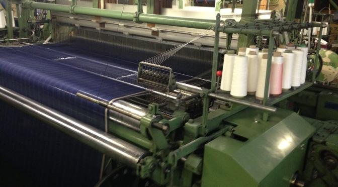 御幸毛織 工場見学レポート(2) 製織工場 一宮へ