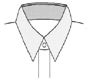 Yシャツの代表的な衿型