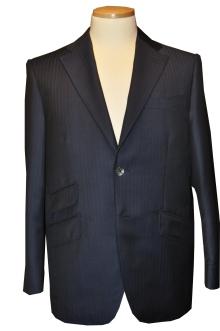 blog_import_520b4914159b6 オーダースーツ-CANONICO:ブライトネイビーのヘリンボーン スーツ