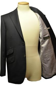 blog_import_520b49186d4a5 オーダースーツ-CANONICO:ブライトネイビーのヘリンボーン スーツ