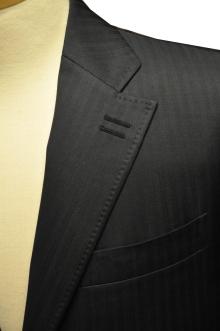 blog_import_520b4922921e6 オーダースーツ-CANONICO:ブライトネイビーのヘリンボーン スーツ