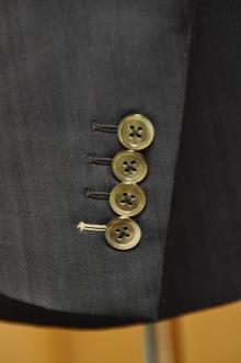blog_import_520b492770174 オーダースーツ-CANONICO:ブライトネイビーのヘリンボーン スーツ