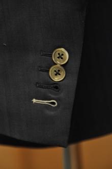 blog_import_520b492c99092 オーダースーツ-CANONICO:ブライトネイビーのヘリンボーン スーツ