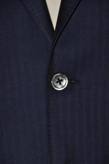 blog_import_520b4937921f0 オーダースーツ-CANONICO:ブライトネイビーのヘリンボーン スーツ