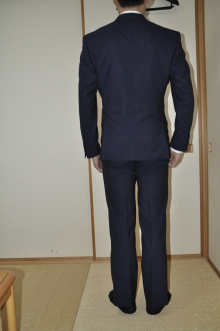 blog_import_520b4ad788cab オーダースーツ-Ermenegild Zegna、High Perfomance Cool Effectネイビ-