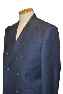 blog_import_520b4e27848f9 オーダースーツ-CANONICO Silk30%,Linen20%,Wool50%ブライトネイビーのダブルスーツ