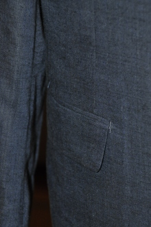 blog_import_520b4ebca5c67 オーダースーツ-Linen85%、Wool15%の明るめのネイビースーツ