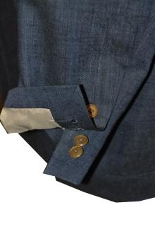 blog_import_520b4ecc7983e オーダースーツ-Linen85%、Wool15%の明るめのネイビースーツ