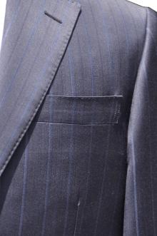 blog_import_520b50d30b75e オーダースーツ-Ermenegild Zegna Shang ネイビーのストライプスーツ
