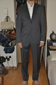 blog_import_520b515385c87 オーダースーツ-CANONICOのチャコールグレー パーティー用スーツ