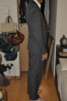 blog_import_520b51583cf86 オーダースーツ-CANONICOのチャコールグレー パーティー用スーツ