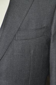blog_import_520b51f86d286 オーダースーツ-CANONICO チャコールグレー シングル2つボタン 名古屋の完全予約制オーダースーツ専門店DEFFERT